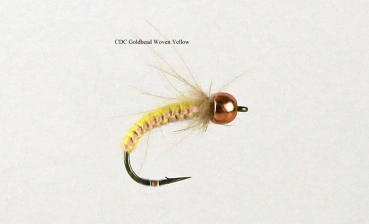 CDC Goldhead Woven Yellow