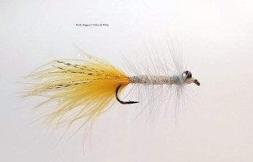 Wolly Bugger – E Yellow & White