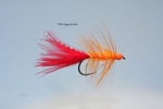 Wolly Bugger –  Tungsten Orange & Red